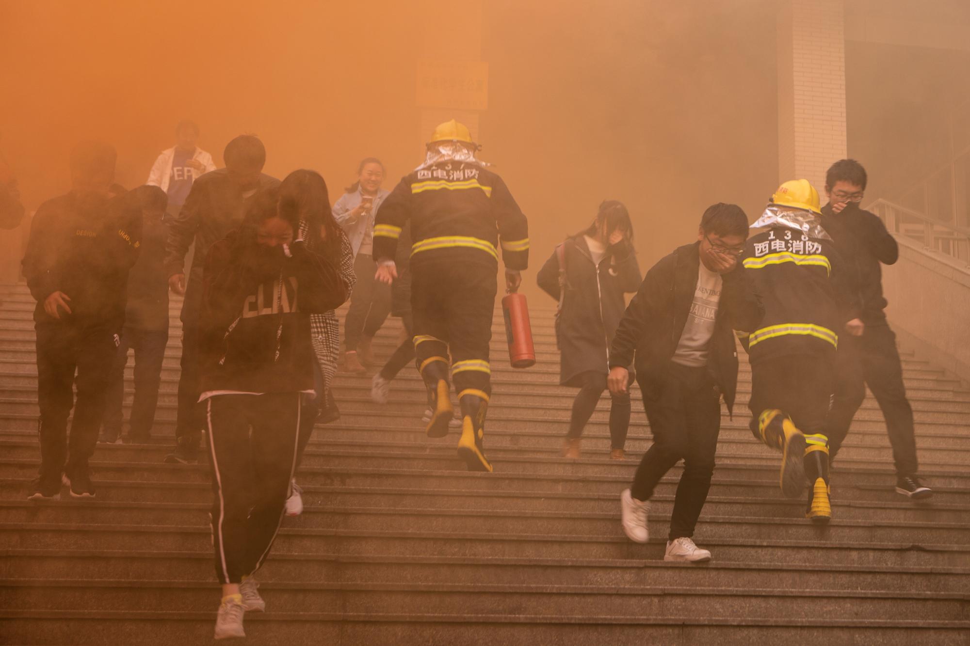西电开展119消防系列活动 增强消防安全意识