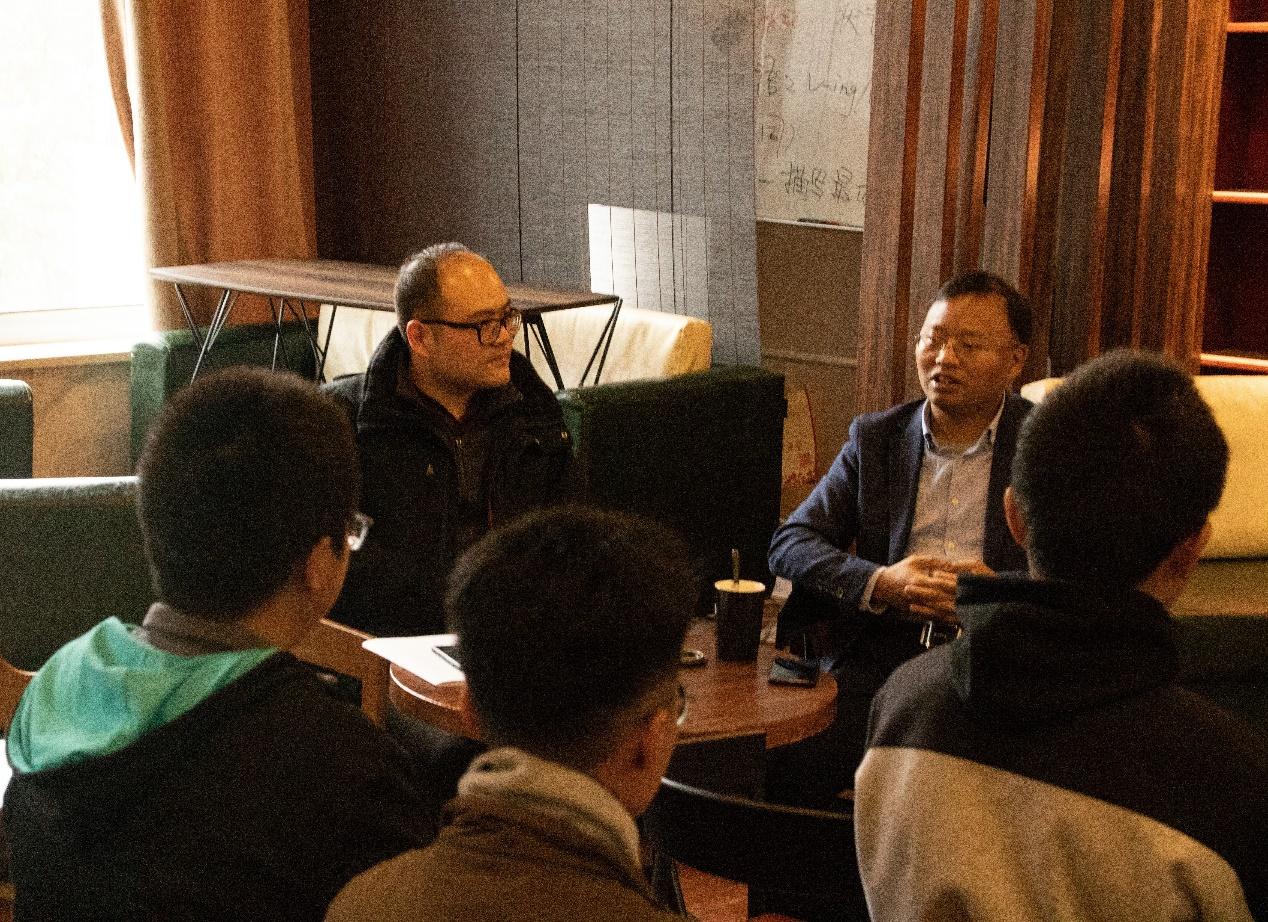 咖啡一品,雅谈一叙——教授咖啡活动之朱江峰教授交流会