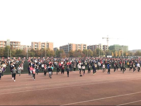 西电举办纪念迁校60周年校园迷你马拉松赛