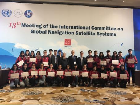 西电学子完成ICG第十三届大会志愿者服务工作