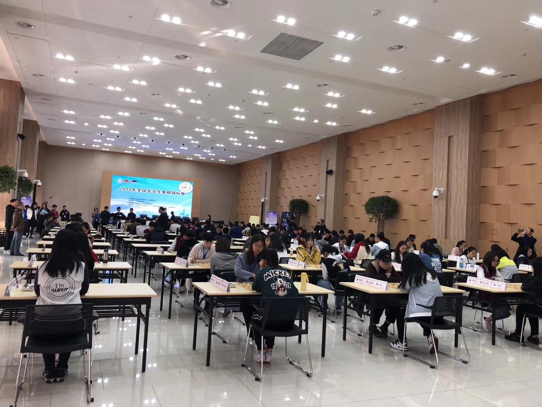 西电学子在全国大学生象棋锦标赛中获佳绩