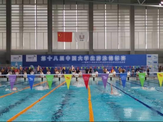 西电学子在中国大学生游泳锦标赛中获佳绩
