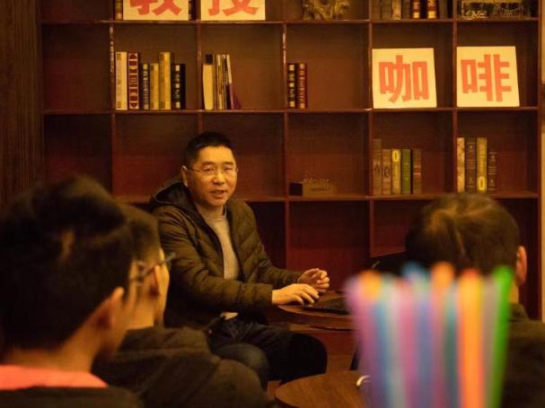 王晓蕊做客教授咖啡,交流光电信息前沿
