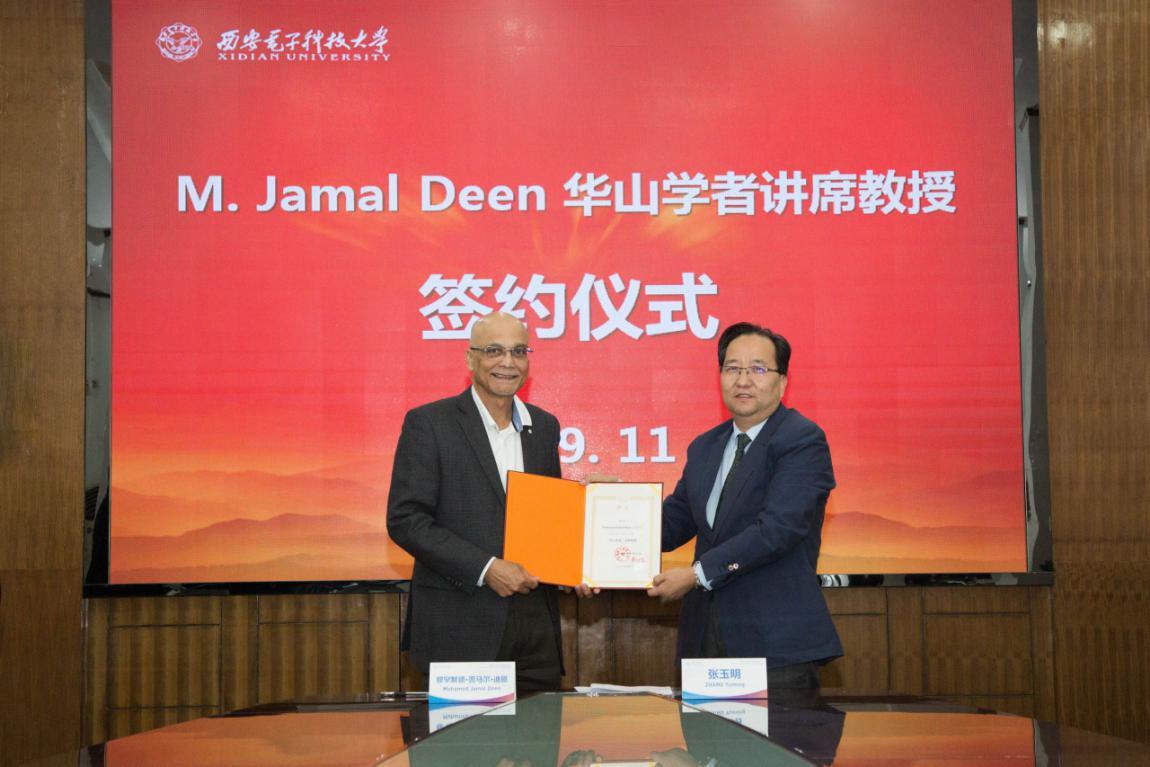 西电名誉教授M.Jamal Deen当选中科院外籍院士