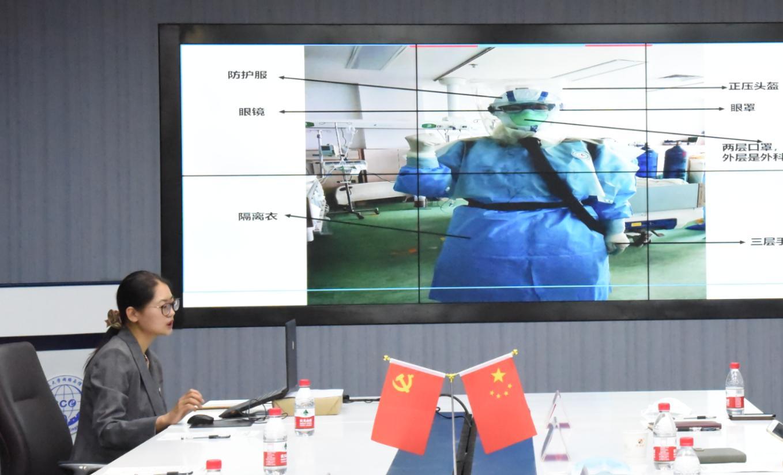 陕西援鄂医生李昊为西电学子带来抗疫复学第一课