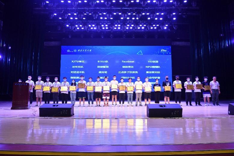 西电学子在陕西省第八届研究生电子设计竞赛中获佳绩